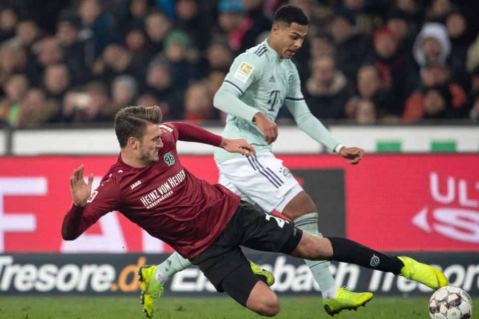 Gnabry zeigte auch in Hannover ein bärenstarkes Spiel.