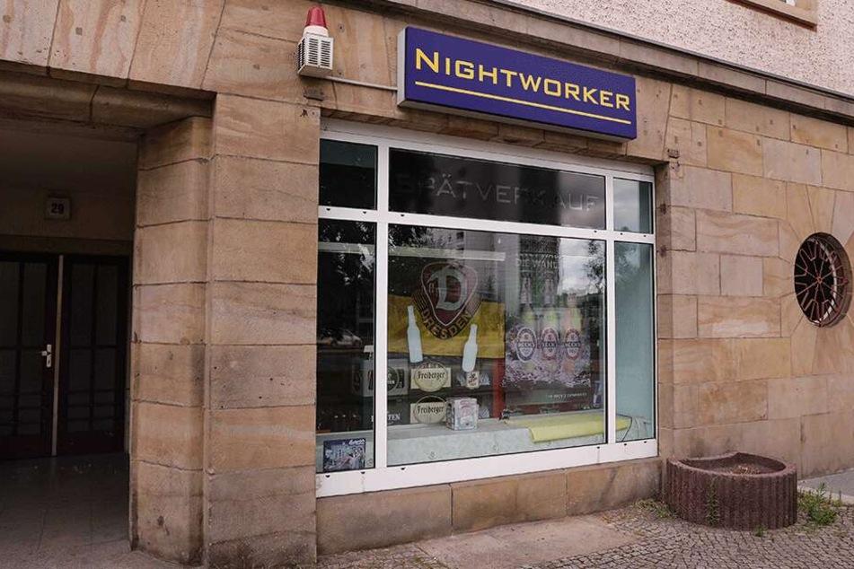 Überfall auf Dresdner Späti! Mitarbeiter mit Küchenmesser bedroht