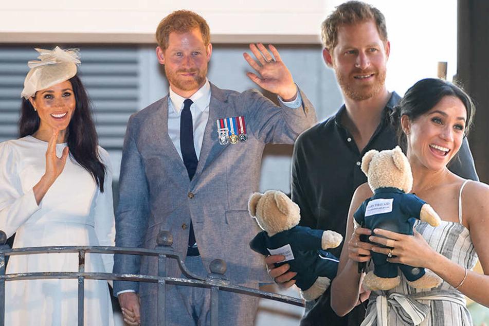 Es ist ein...: Baby von Herzogin Meghan und Prinz Harry ist da