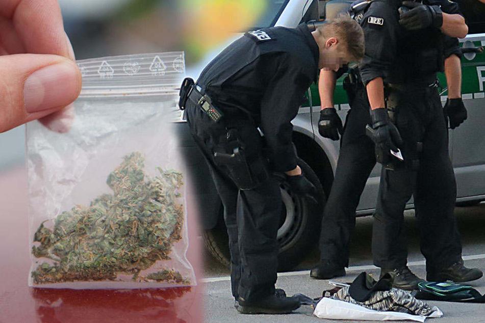 Bei der Drogenkontrolle wurden insgesamt 30 Gramm Betäubungsmittel sichergestellt. (Symbolbild)
