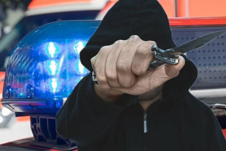 Ein 24-jähriger Mann wurde an einer Haltestelle in Leipzig-Grünau erstochen. (Bildmontage)