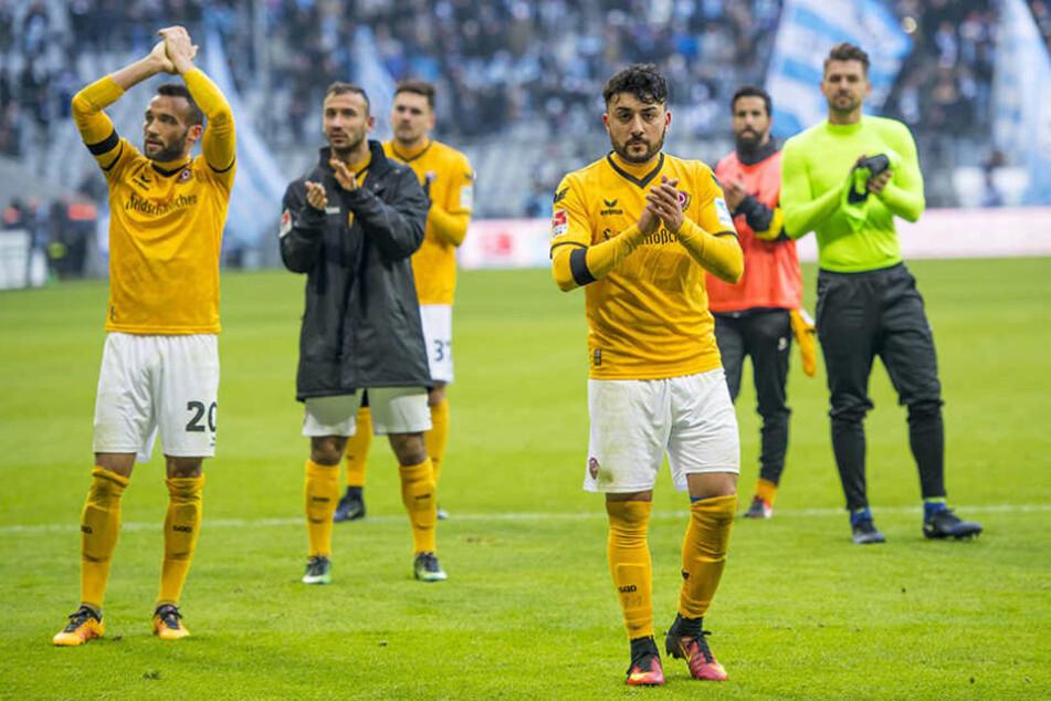 Im letzten Heimspiel des Jahres will Dynamo noch einmal Gas geben.