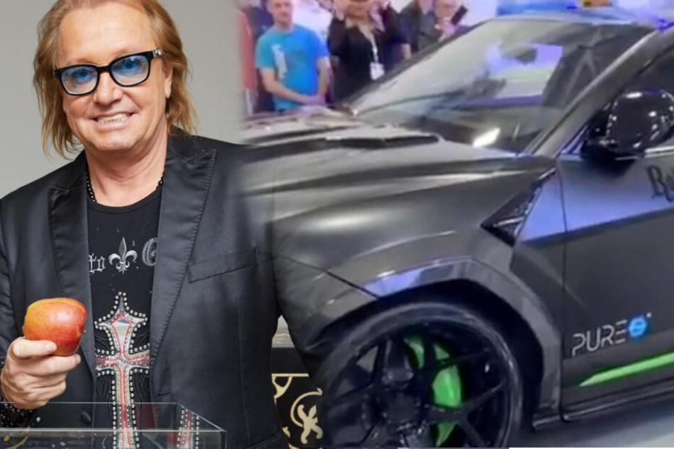 Hier stellt Robert Geiss seinen heftigen Lamborghini Urus vor!