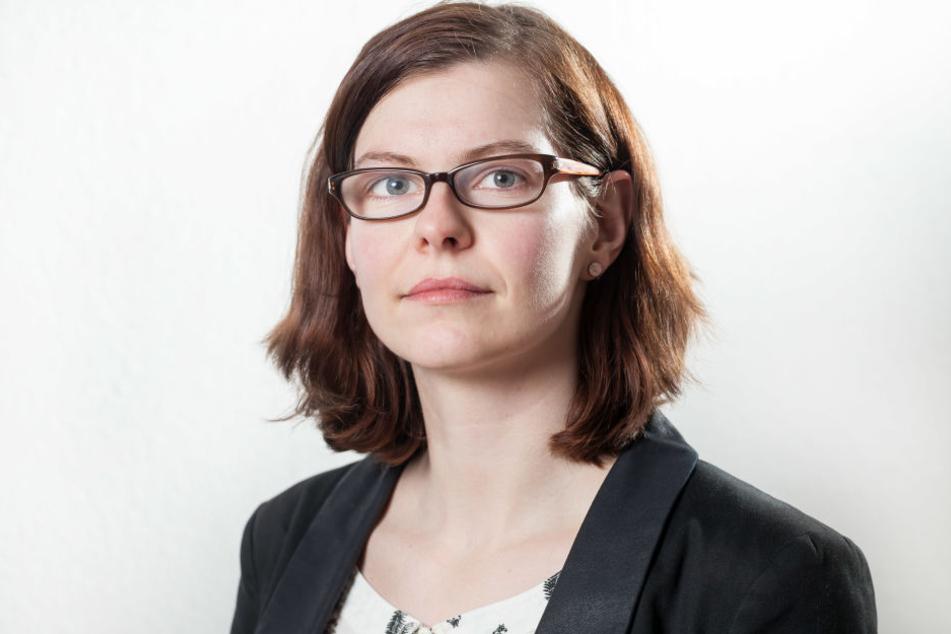 Stadträtin Sabine Pester (32, Linke)