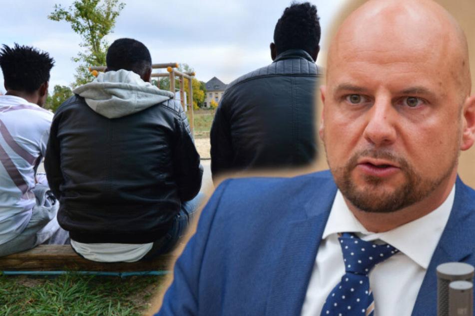 Er poltert gegen Ausländer: AfD-Provokateur Stefan Räpple schlägt wieder zu