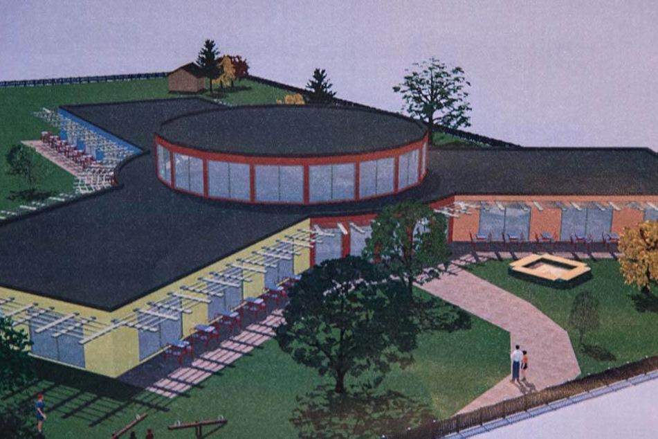 So soll der Kita-Neubau in Neumark aussehen.