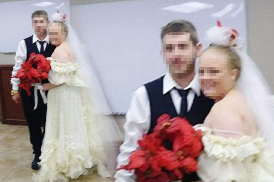 Junges Paar lässt sich trauen: Fünf Minuten später sind beide tot!