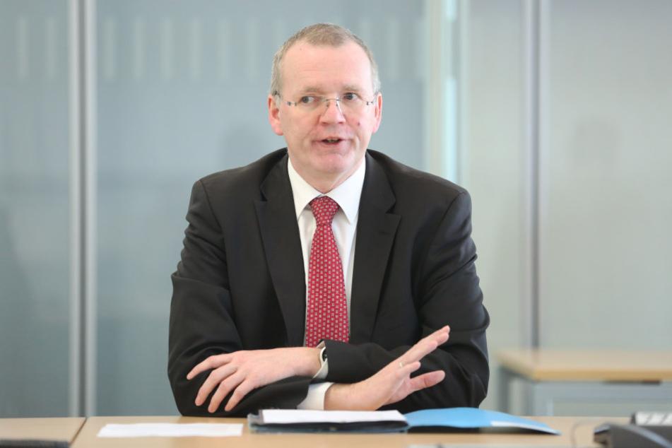 Beim Sicherheitsbürgermeister Detlef Sittel (50, CDU) wurde eine Mitarbeiterin beklaut.