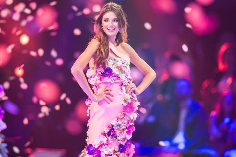 """2017 wurde Celine Bethmann Siegerin von """"Germany's Next Topmodel""""."""
