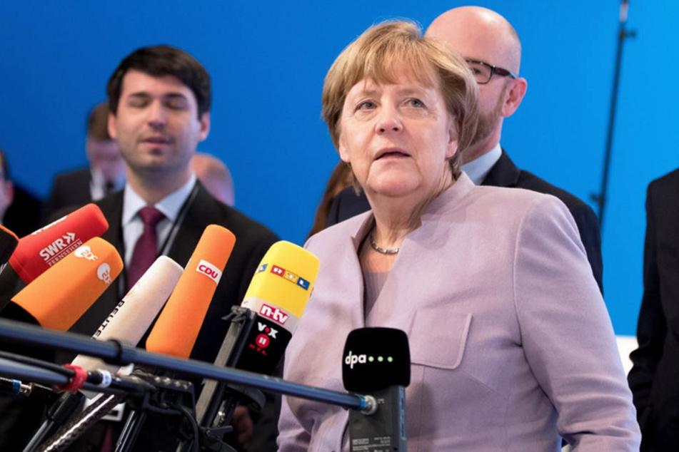 Merkel verspricht: Flüchtlings-Situation darf sich nicht wiederholen