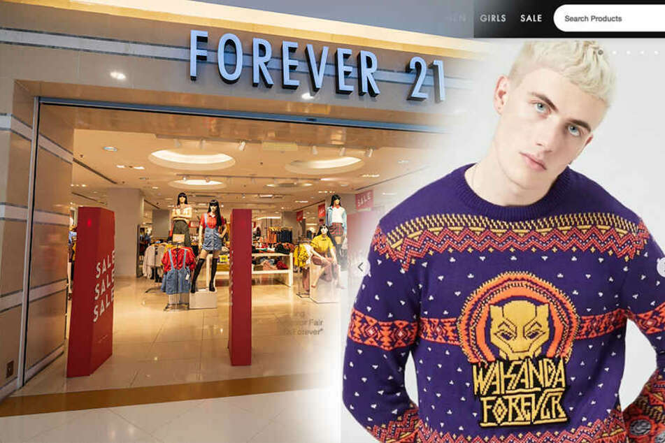 Wegen diesem Pullover an diesem Model gab es Kritik.