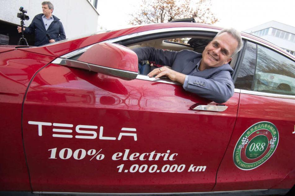 Dieser Mann hat eine Million Kilometer mit seinem E-Auto abgespult!
