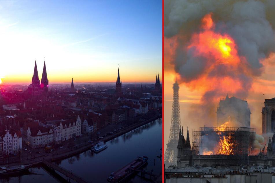 Nach Flammen-Inferno von Paris: So steht es um die Sicherheit Norddeutscher Kirchen