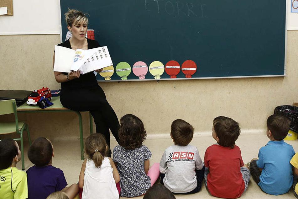 Schon im Vorschulalter sollen Kinder Fremdsprachen lernen.