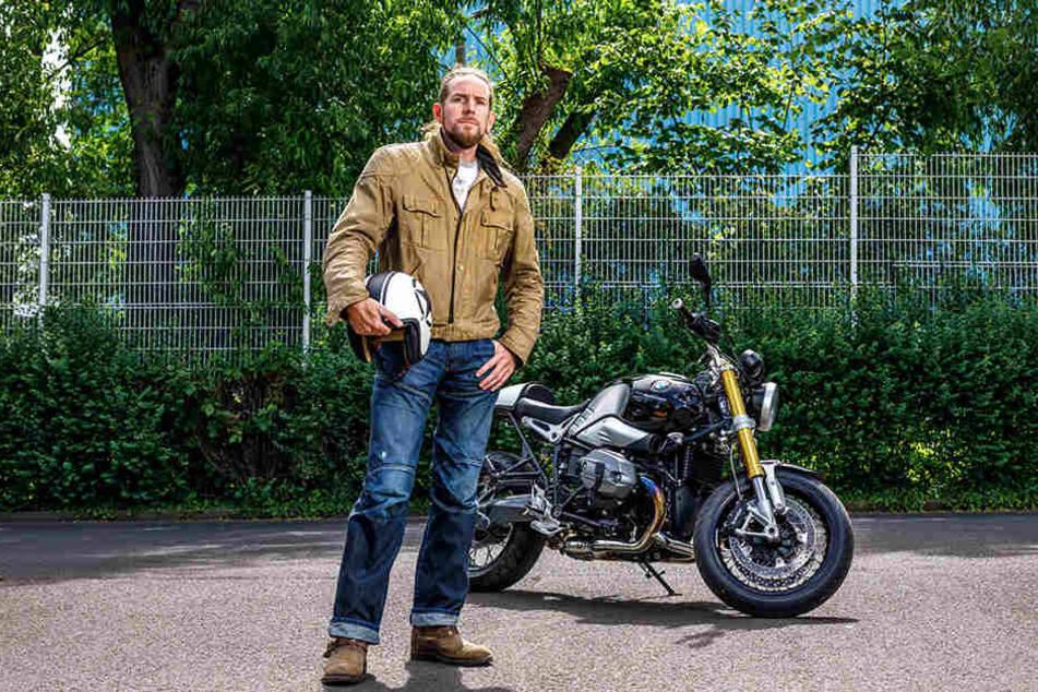 Bei der Heimkinderausfahrt dabei: Motorradfahrer Stefan Fricke (45) erinnert sich an das Drama vor zwei Jahren, als zwei der Ordner ums Leben kamen,
