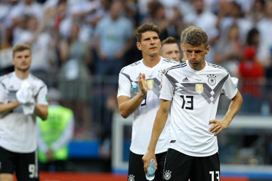 Die deutsche Mannschaft hat gegen Mexiko ein schwaches Spiel abgeliefert.