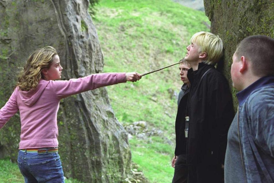 Emma Watson und Tom Felton waren in ihren Rollen als Hermine und Draco keine Freunde.
