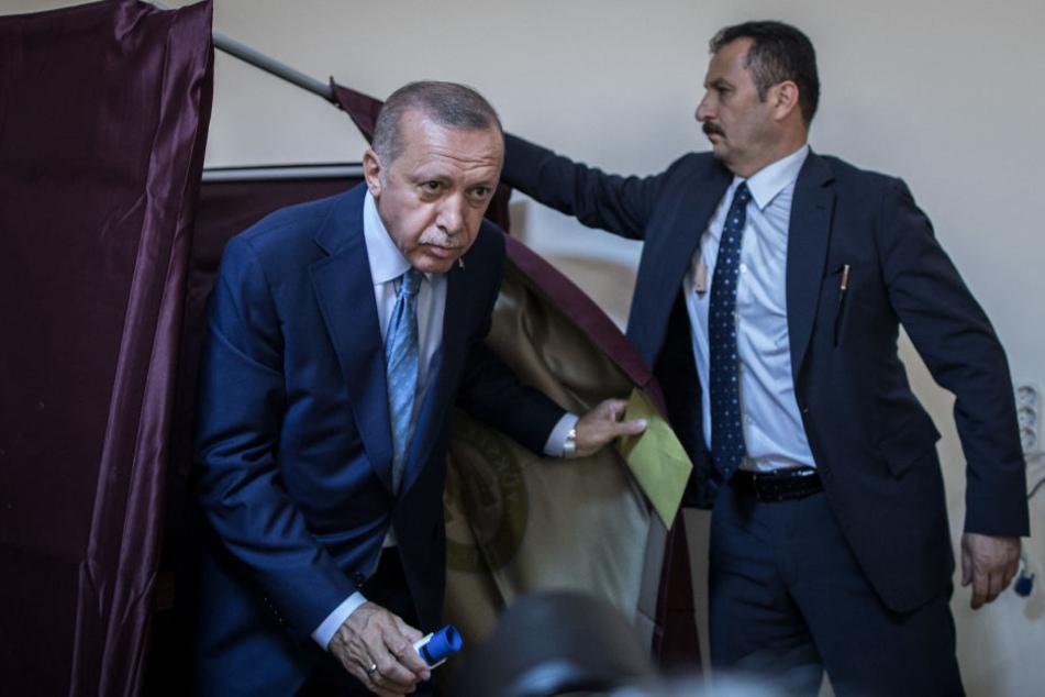 Erdogan liegt bei Wahl in Deutschland weit vorn