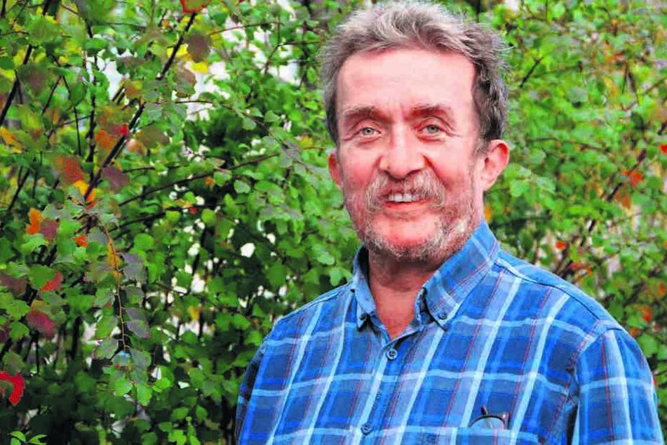 Joachim Schruth (63) vom NABU will die Genehmigung für die Seilbahn anfechten.