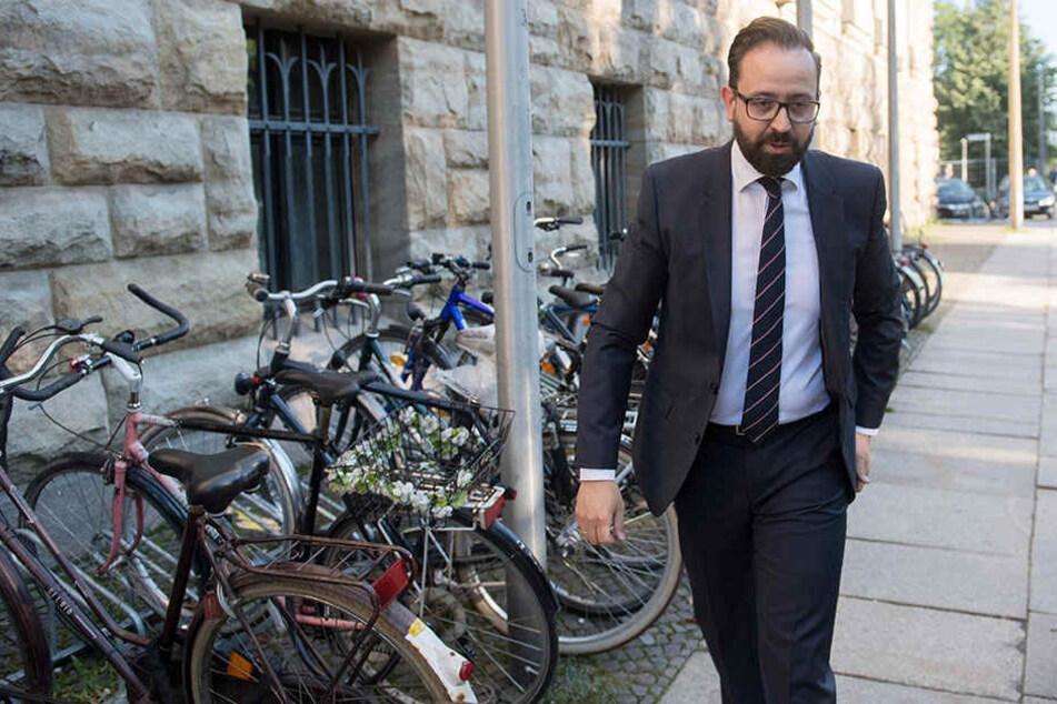 Justizminister Sebastian Gemkow (39) sagte vor dem Bundesverwaltungsgericht in Leipzig gegen den 30-Jährigen Täter aus.