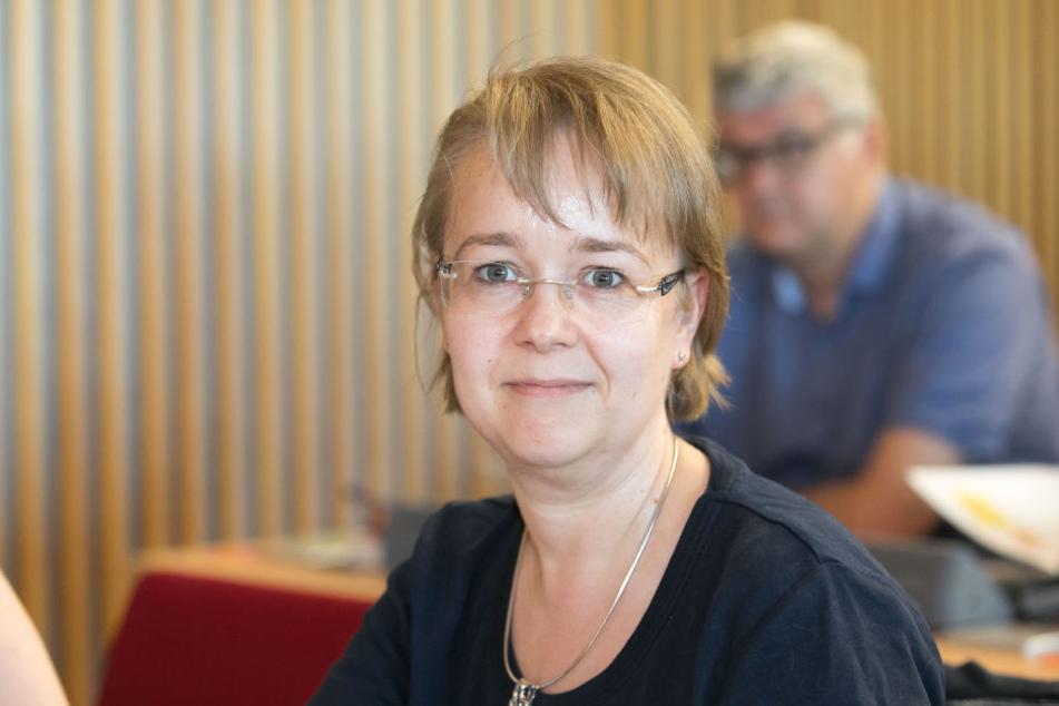 Stadträtin Manuela Sägner (Linke) engagiert sich unter anderem für den Tierschutz in Dresden.