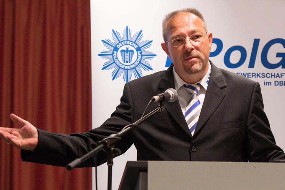 Bodo Pflalzgraf glaubt, dass arabische Clans die Berliner Polizei unterwandern.