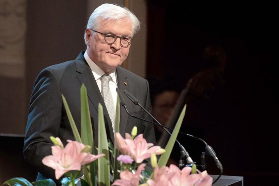 Bundespräsident Frank-Walter Steinmeier warnte vor neuem Judenhass durch Zuwanderer aus israelfeindlichen Ländern.
