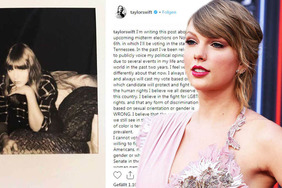 Taylor Swift bricht Schweigen und spricht sich gegen diese Politiker aus