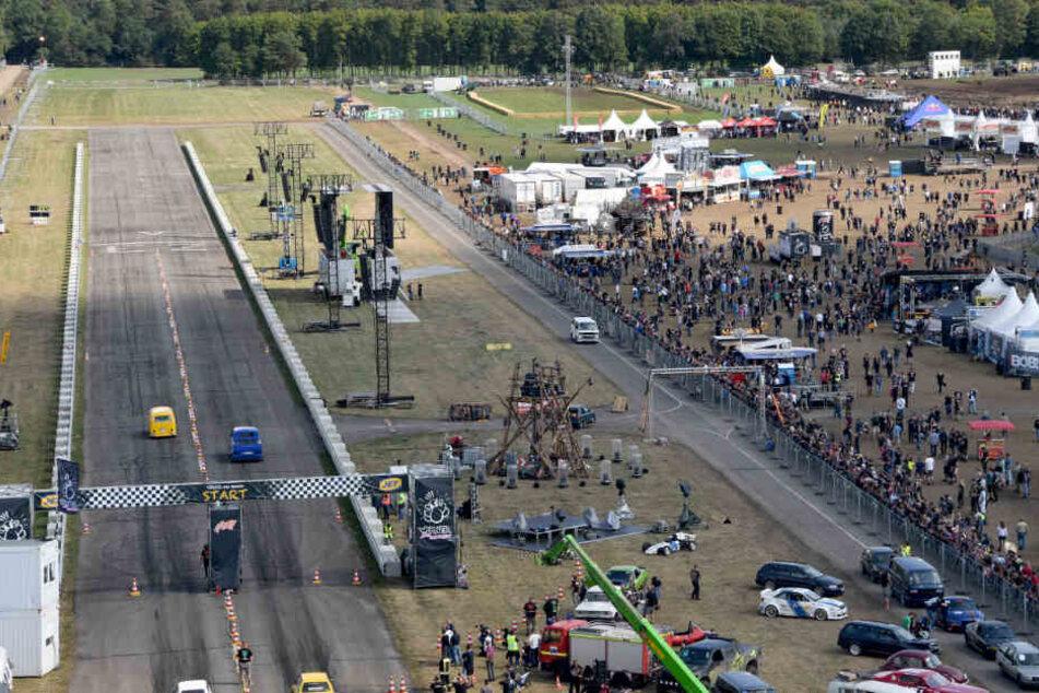 Das Festival fand auf dem Flugplatz von Hartenholm statt.