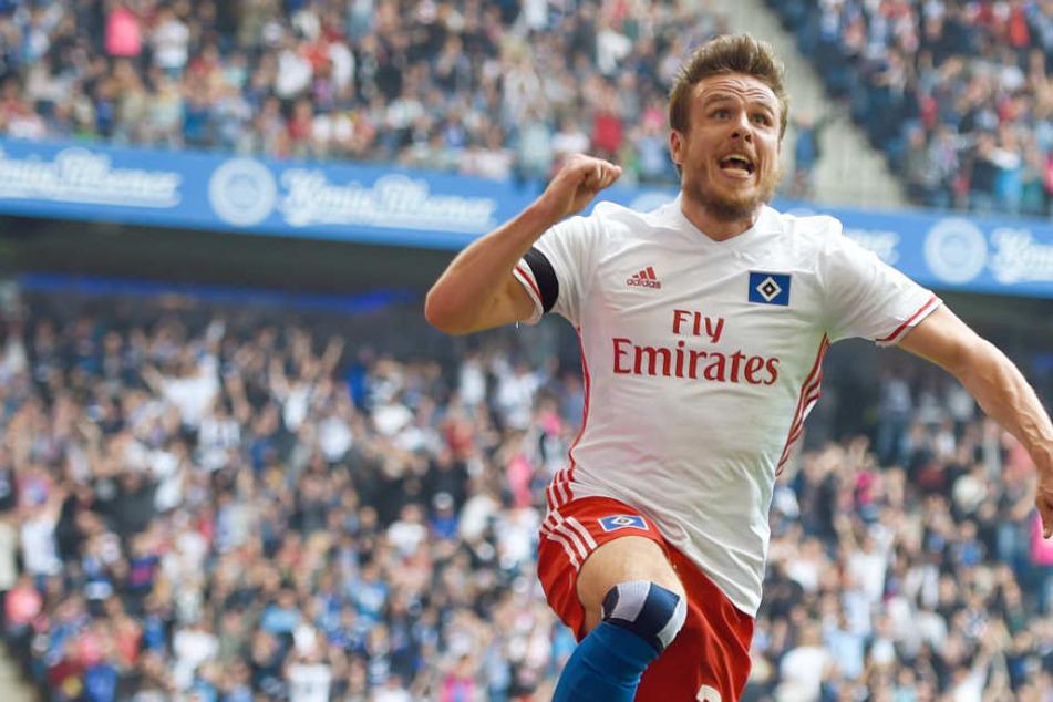 Stürmer Nicolai Müller (Archivbild) freut sich auf seinen neuen Verein Eintracht Frankfurt.