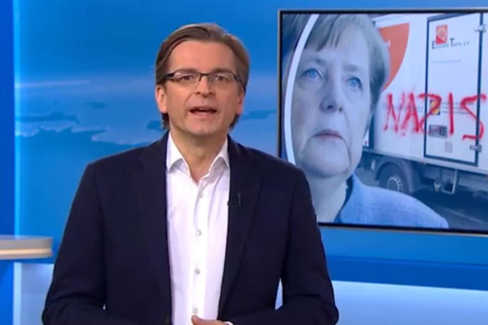 """Claus Strunz im Kommentar in Sat.1: """"Wird Merkel ihrem Schwur nicht mehr gerecht?"""""""