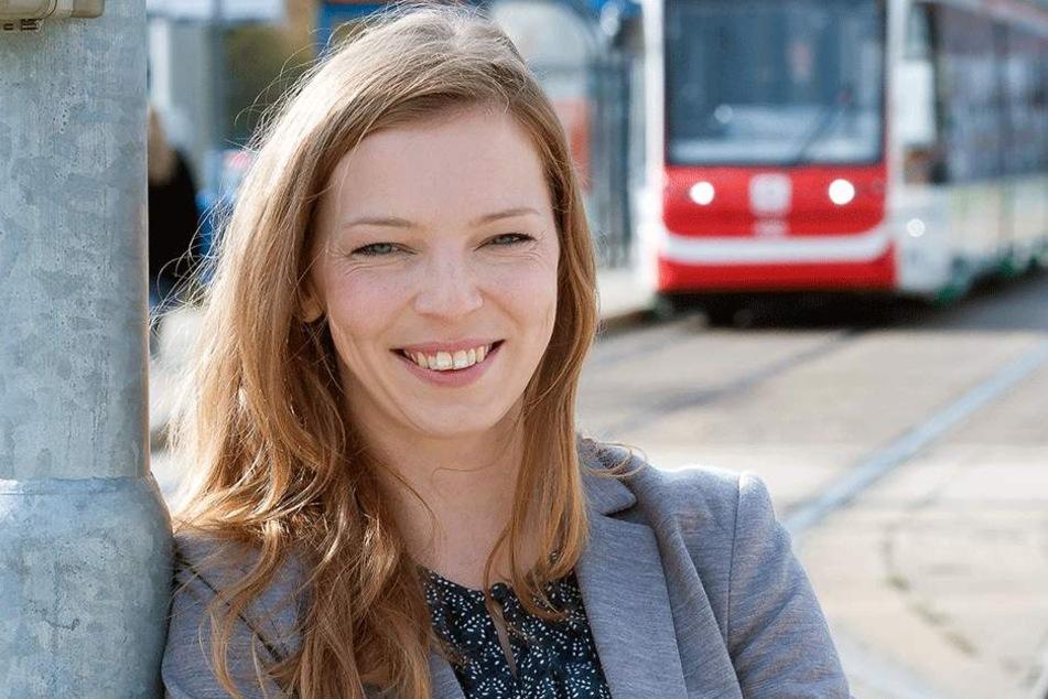 Für VMS-Sprecherin Jeanette Kiesinger (33) zeigt das Chemnitzer Modell Wirkung.