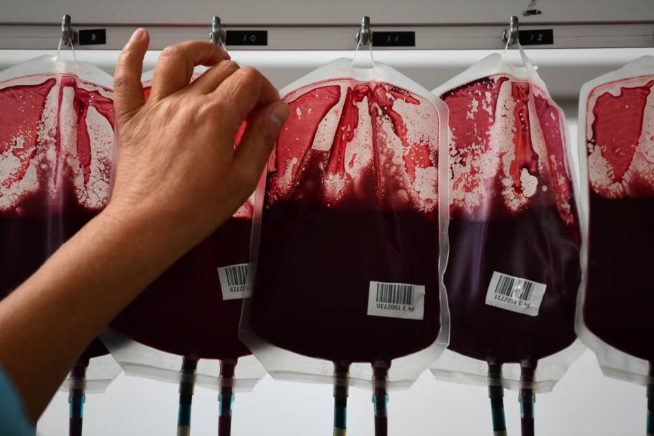 So viele Blutkonserven werden jeden Tag in Bayern gebraucht