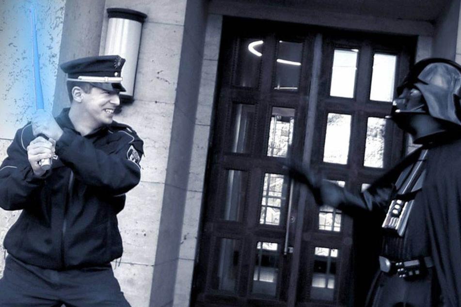 """May the 4th..."": Berliner Polizei zelebriert Star Wars"
