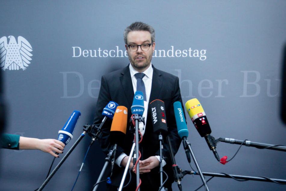 Tobias Lindner (37, Grüne) stellte die brisante Anfrage.