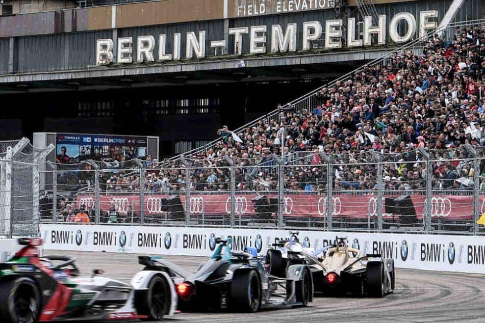 Mai 2019: Ein Rennen in der Formel-E-Meisterschaft auf dem Flughafen Tempelhof in Berlin.