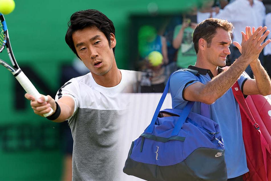 Der Japaner Yuichi Sugita (28) rückt für Yen-Hsun Lu (33) auf: Sein Gegner wird Roger Federer (35) sein.