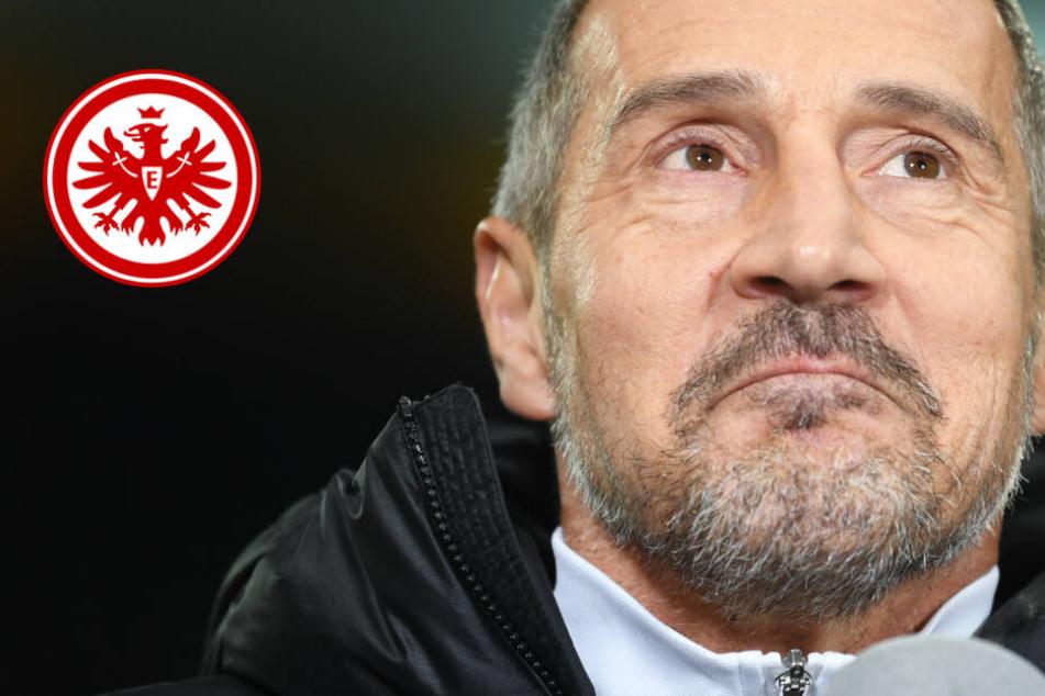 """Eintracht-Trainer nach Berlin-Pleite: """"Wenn wir so spielen, wird es in Salzburg ganz schwer"""""""