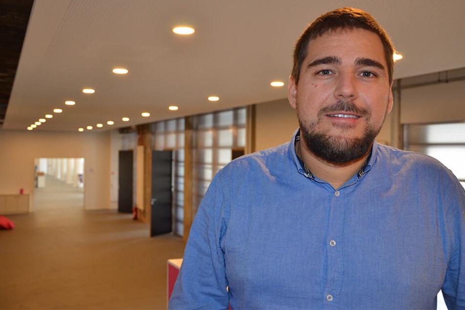 Lovoo-Mitbegründer Benjamin Bak (32) startet einen eigenen Start-up-Campus.
