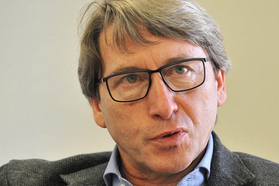 Tiefbauamtsleiter Bernd Gregorzyk befürwortet das Konzept.