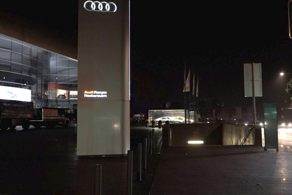 Das Audi-Werk in Neckarsulm: Auch hier kam es zu Überschwemmungen.