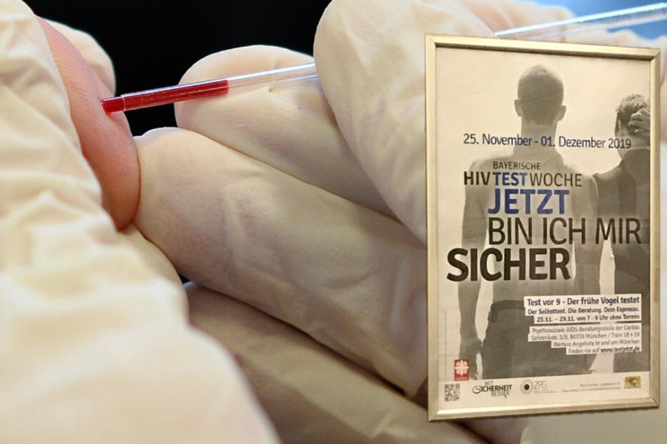 Freistaat im Kampf gegen AIDS: Bayern startet HIV-Testwoche