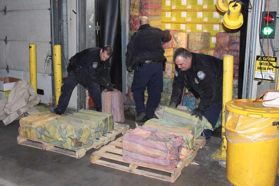 Insgesamt 1,5 Tonnen Rauschgift konnten die Fahnder sicherstellen.
