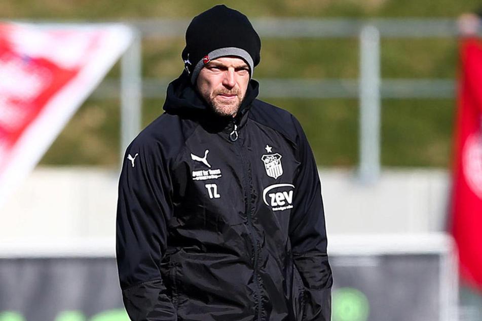 FSV-Trainer Torsten Ziegner.