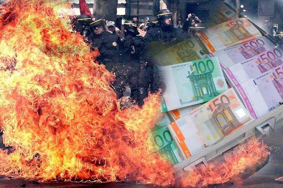 40 Mio. Euro Beute: Geldtransporter auf Autobahn gestoppt und aufgesprengt
