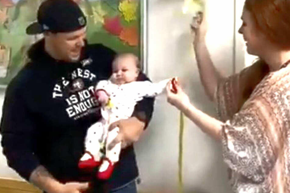Baby kämpft ein halbes Jahr gegen inoperablen Gehirntumor, dann geschieht ein Wunder!