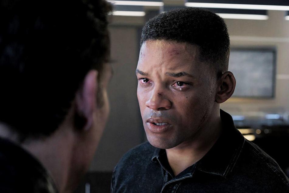 Der Unterschied ist im Film nur noch anhand einiger Details auszumachen: Will Smith wurde digital verjüngt und spielt sowohl einen 23-Jährigen (Junior), als auch einen 51-jährigen Killer (Henry Brogan).