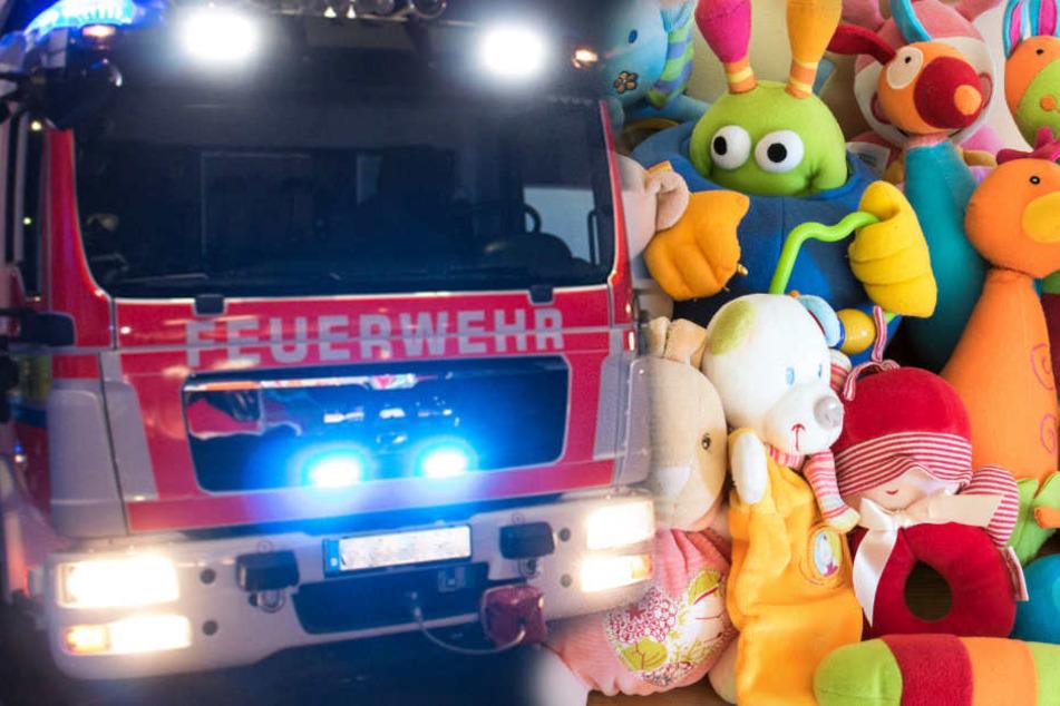 Das im Großhandel gelagerte Spielzeug wurde weitgehend zerstört.