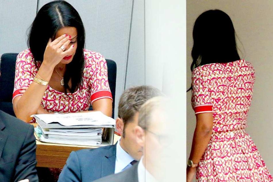Am Donnerstag musste sie den Plenarsaal zwischenzeitlich unter Tränen verlassen.