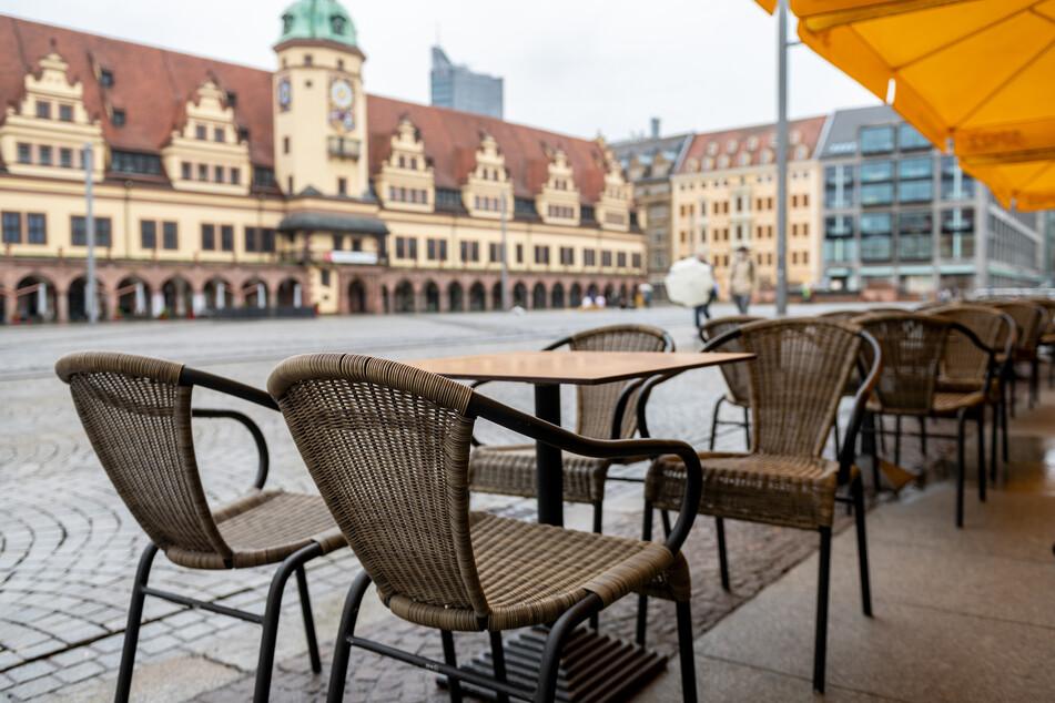 Viele Gastronomen in Leipzig haben die Öffnung ihrer Außenbereiche in den vergangenen Tagen schon vorbereitet.